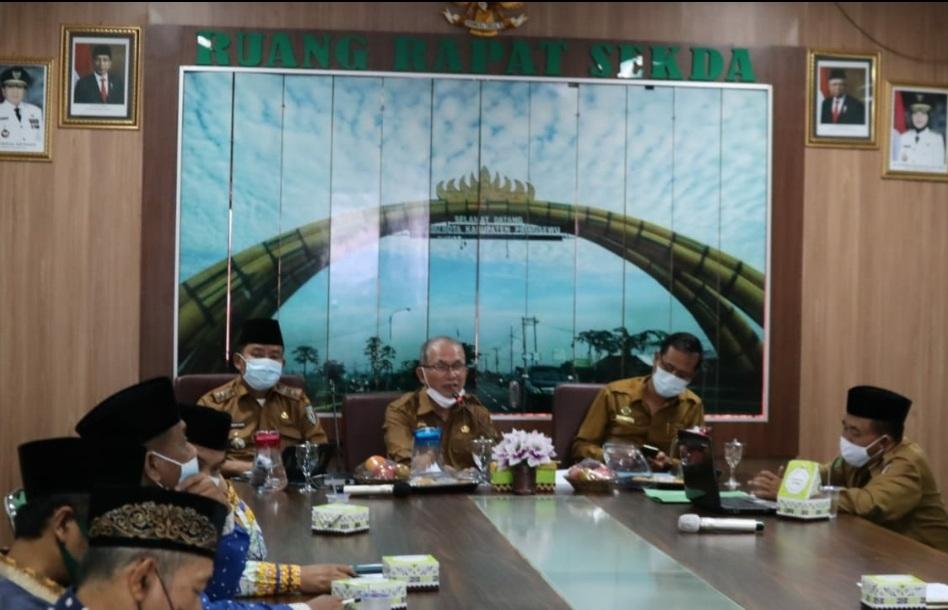 Rapat Persiapan Kegiatan Seleksi Tilawatil Quran Kabupaten Pringsewu