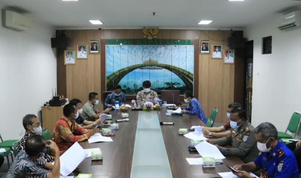 Rapat Persiapan Peringatan HUT Ke-76 Kemerdekaan Republik Indonesia Tahun 2021