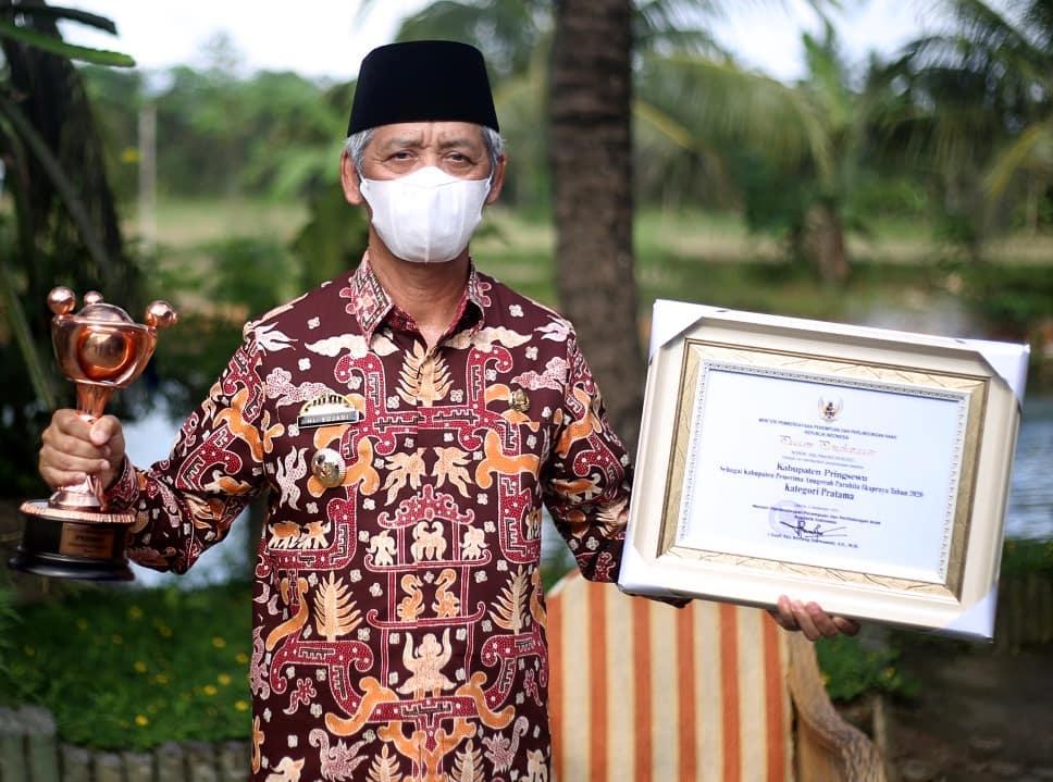 Pringsewu Raih Anugerah Parahita Ekapraya 2020