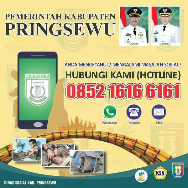 Hotline Masalah Sosial Dinas Sosial Kabupaten Pringsewu