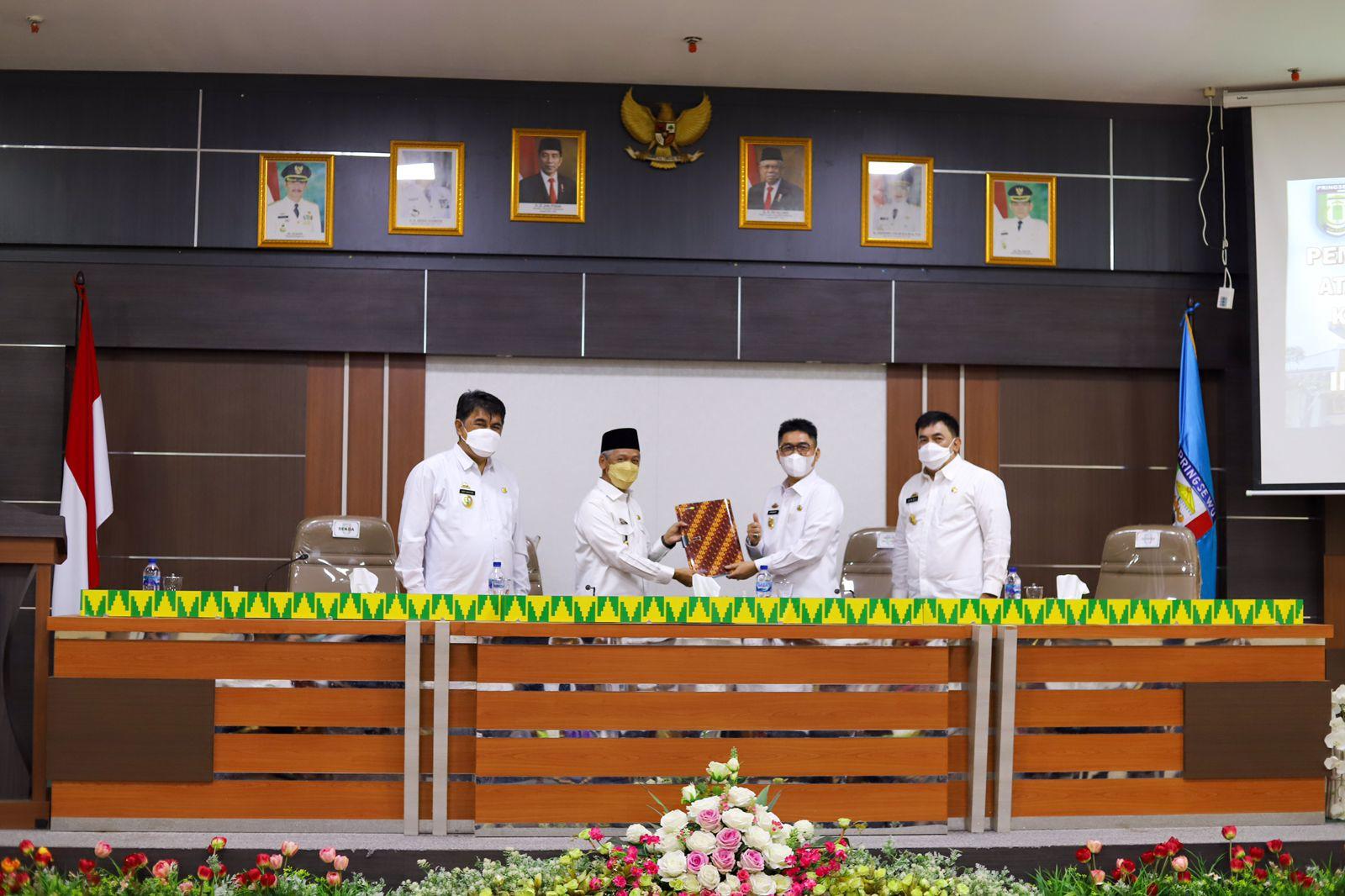 Bupati Pringsewu Menerima Kunjungan Inspektorat Provinsi Lampung