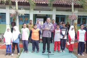 Wabup Pringsewu Canangkan Outdoor Classroom Day di SMPN 3 Gadingrejo