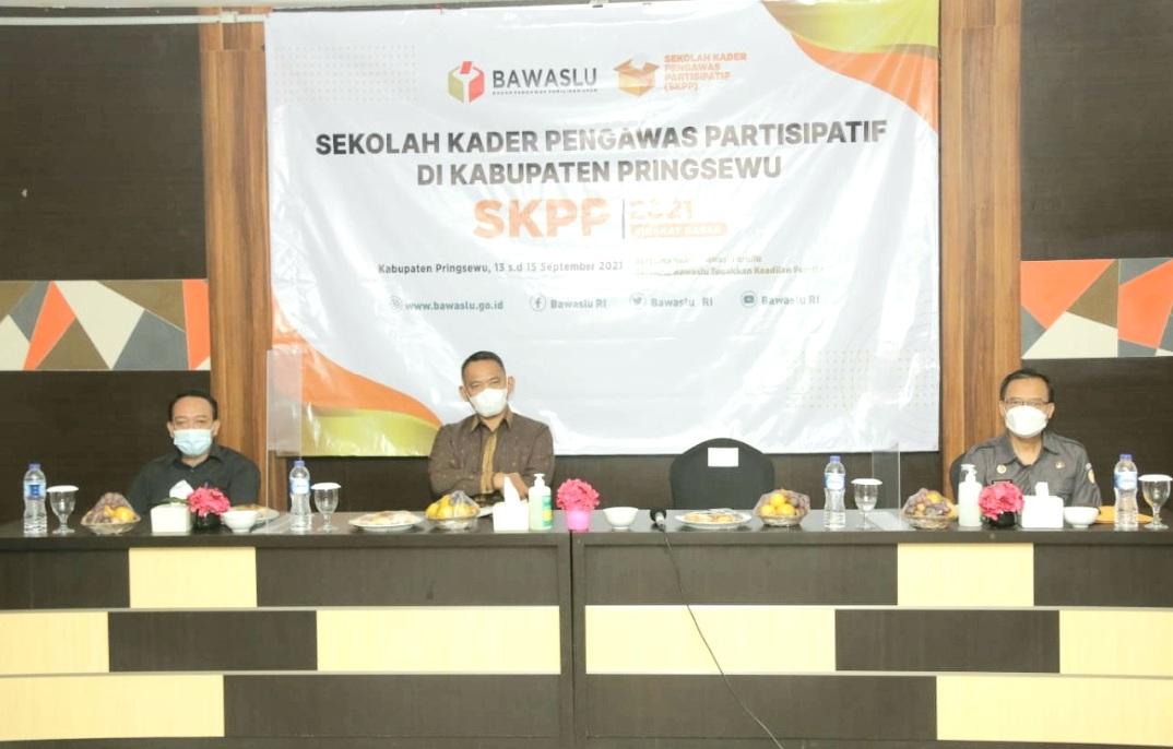 Wabup Membuka SKPP Tingkat Dasar Tahun 2021 di Kabupaten Pringsewu