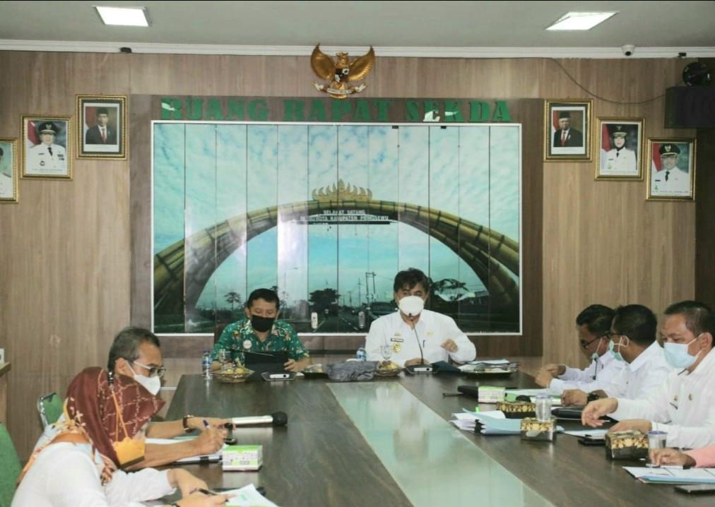 Rapat Forum Komunikasi Pemangku Kepentingan Utama Kabupaten Pringsewu Semester II