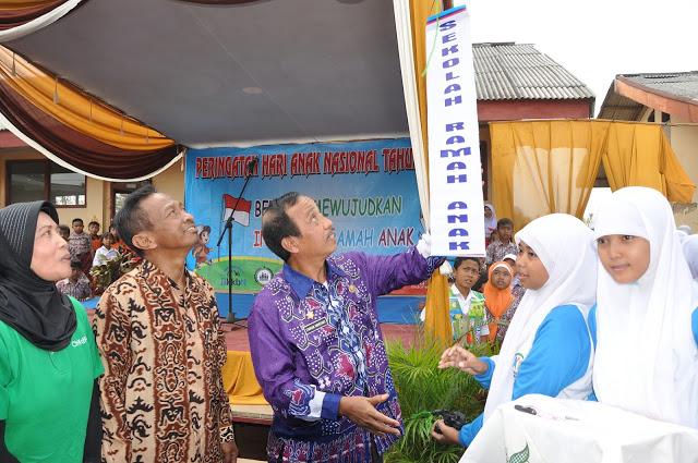 Pringsewu Launching Sekolah Ramah Anak