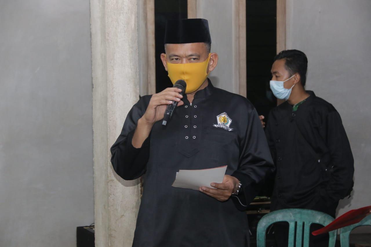 WABUP PRINGSEWU HADIRI PUPUTAN PENGESAHAN ANGGOTA TTKKDH